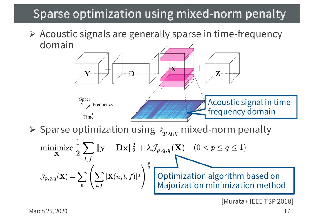 Sparse optimization using mixed-norm penalty Ø ...