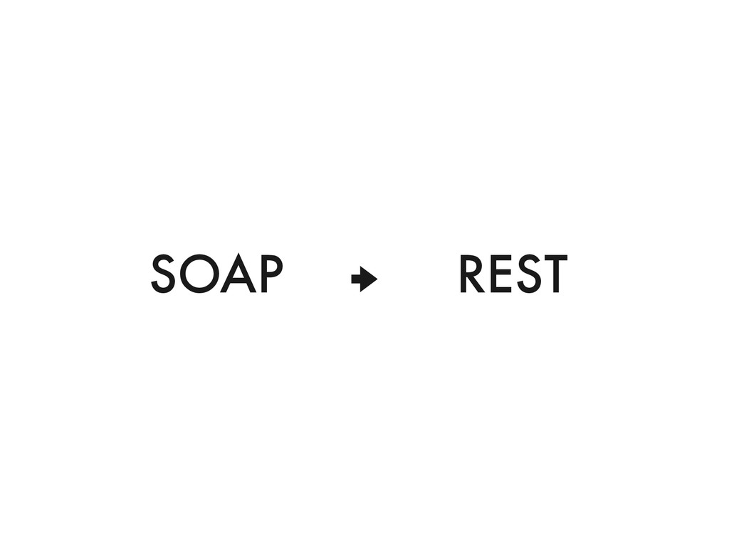 """"""" SOAP REST"""