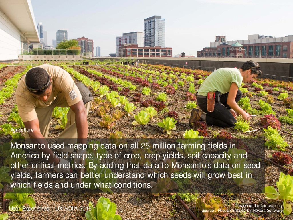 Agriculture Monsanto used mapping data on all 2...