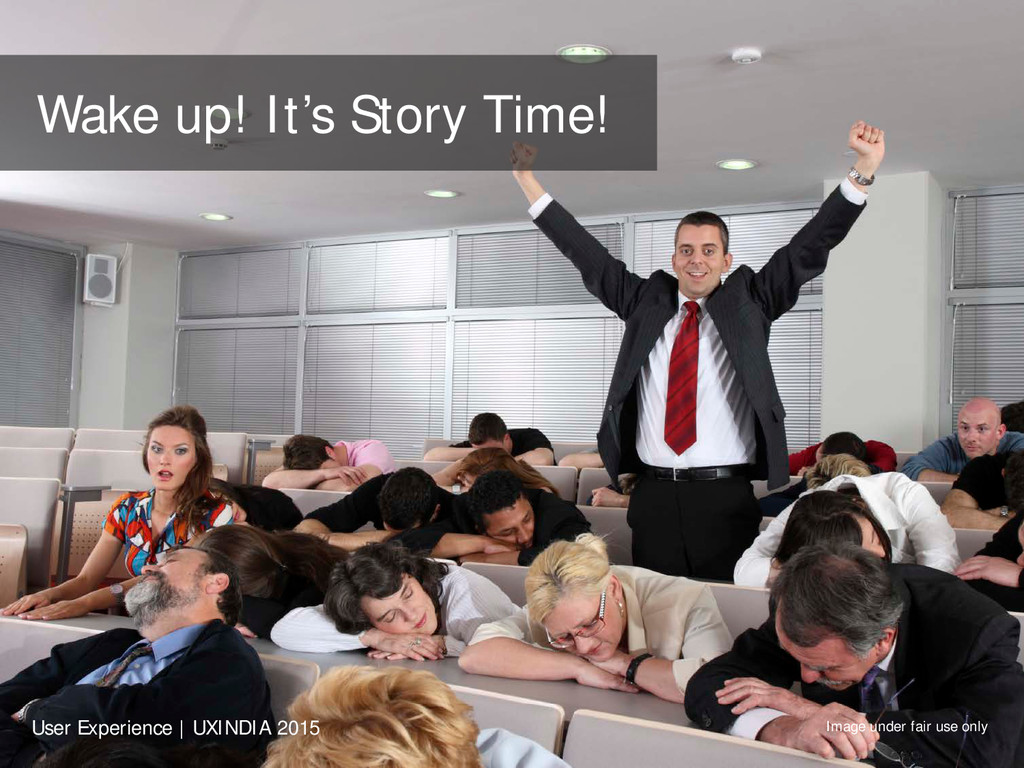 Wake up! It's Story Time! Image under fair use ...
