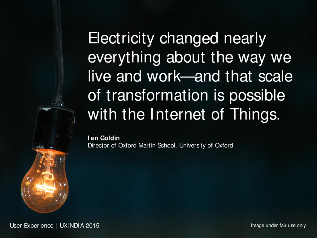 Electricity changed nearly everything about the...