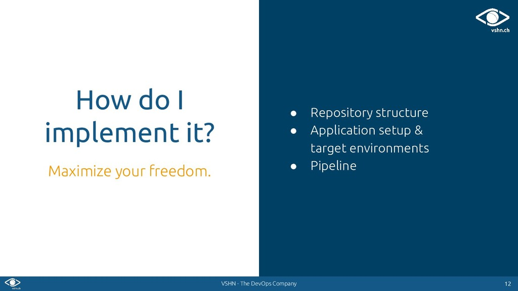 VSHN - The DevOps Company ● Repository structur...