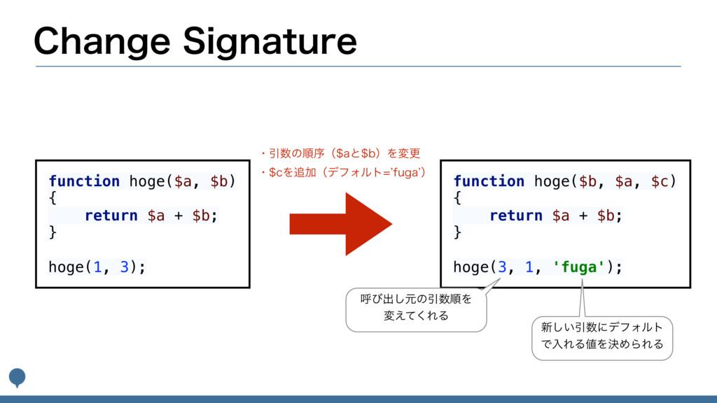 $IBOHF4JHOBUVSF function hoge($a, $b) { retu...