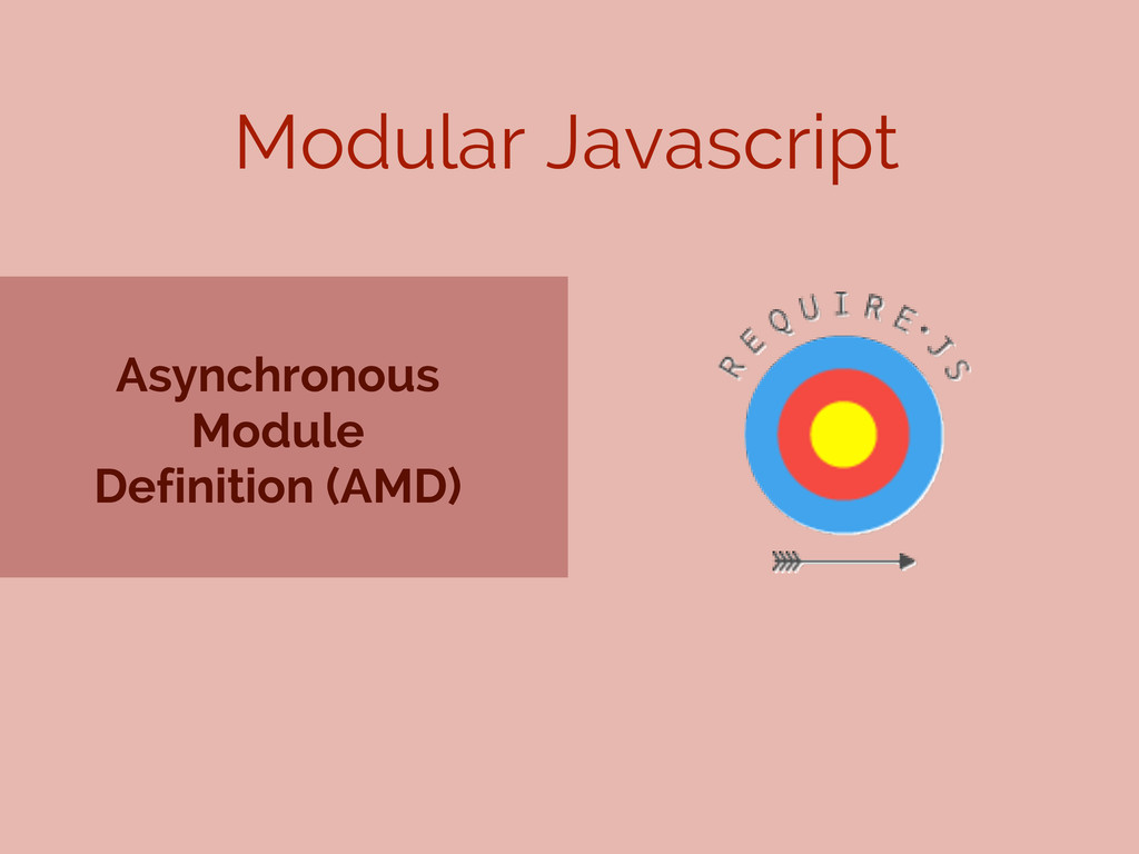 Asynchronous Module Definition (AMD) Modular Ja...