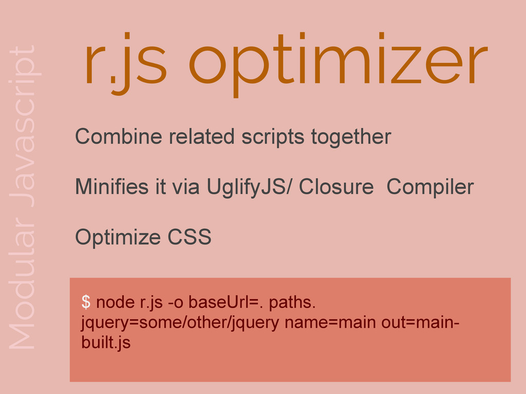 Modular Javascript Combine related scripts toge...