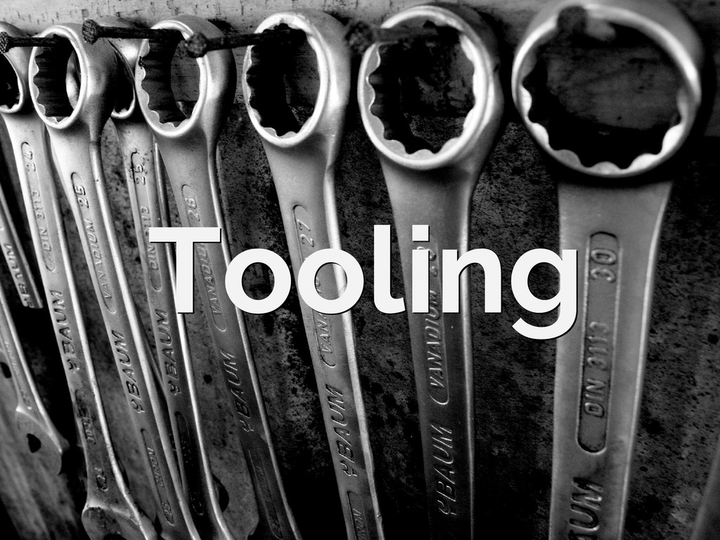 Tooling Tooling