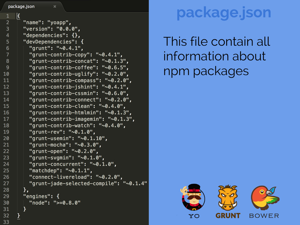 package.json Config This file contain all infor...