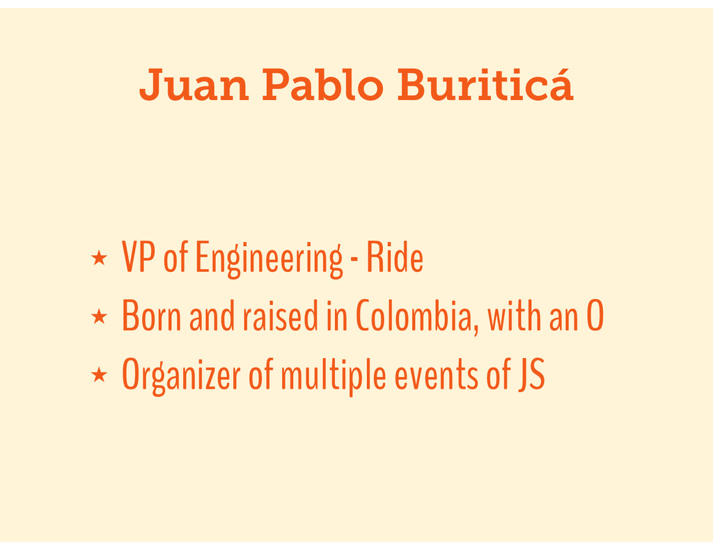 ★ VP of Engineering - Ride ★ Born and raised in...