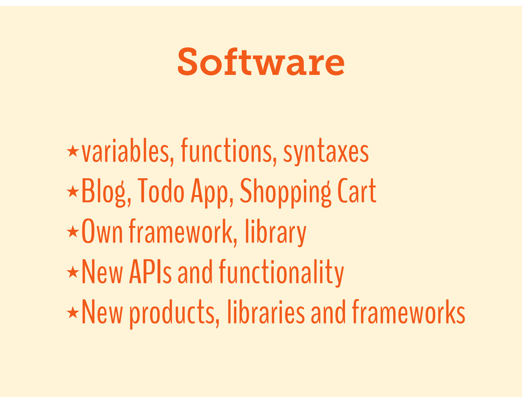 Software ★variables, functions, syntaxes ★Blog,...
