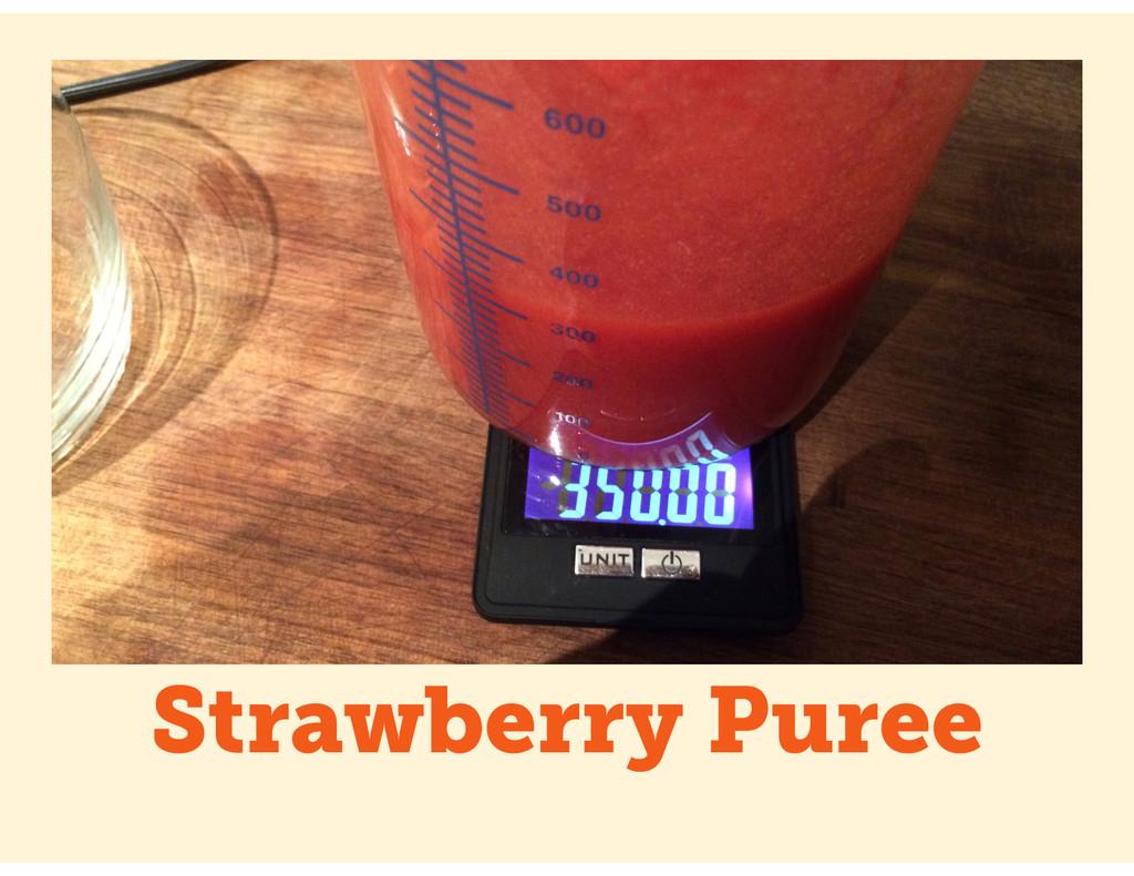 Strawberry Puree