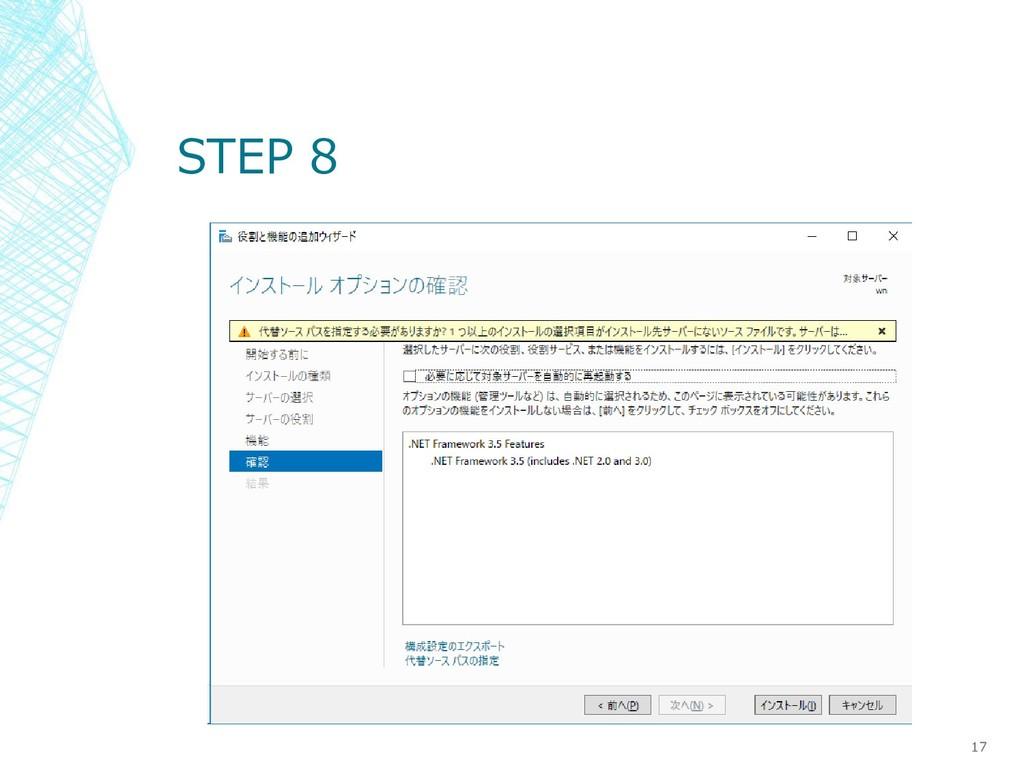STEP 8 17