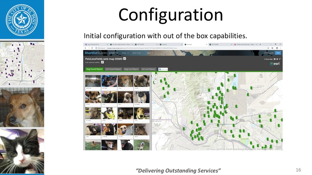 """Delivering Outstanding Services"" 16 Configurat..."