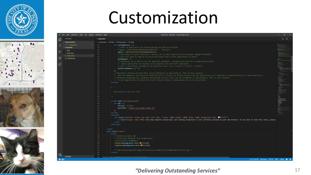 """Delivering Outstanding Services"" 17 Customizat..."