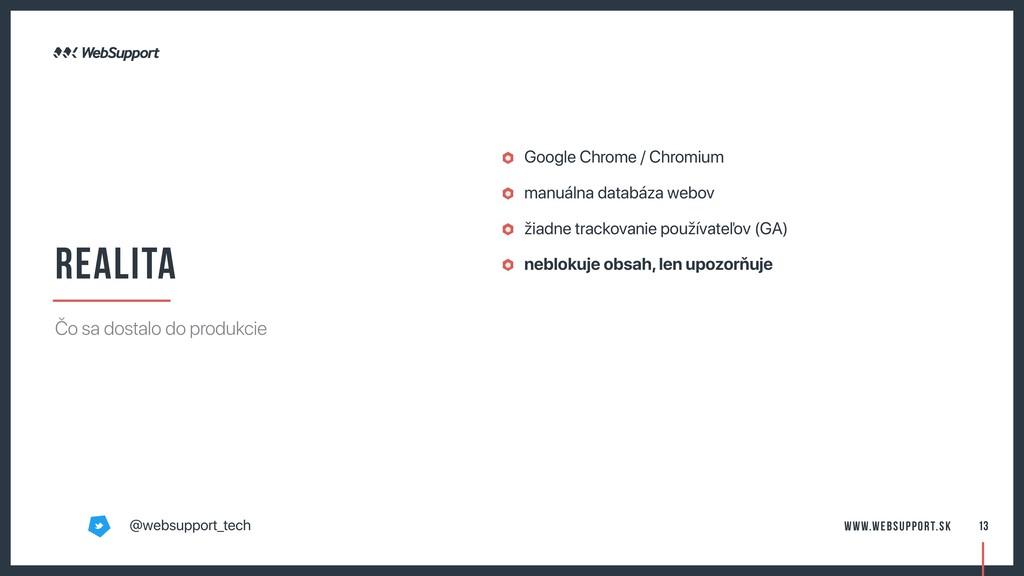 Google Chrome / Chromium manuálna databáza webo...