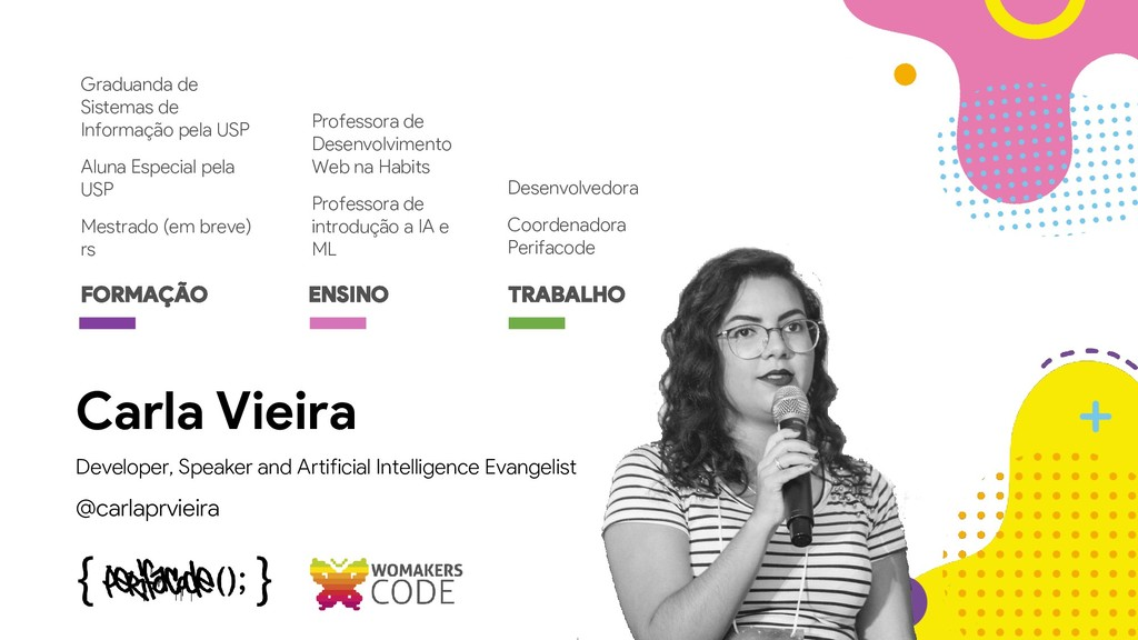 Developer, Speaker and Artificial Intelligence ...