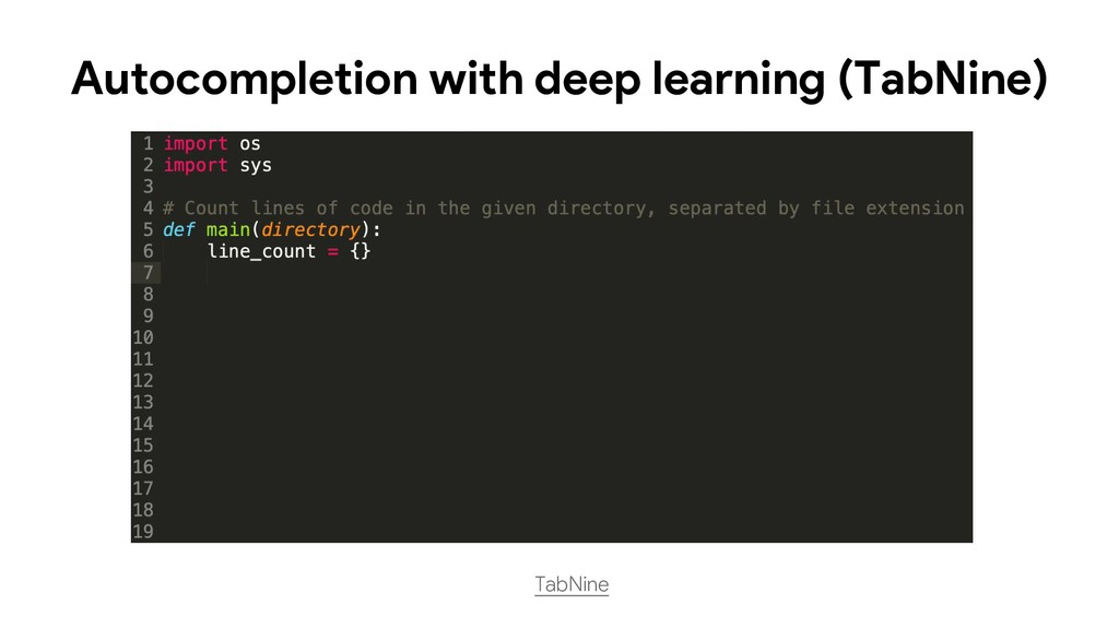 TabNine Autocompletion with deep learning (TabN...