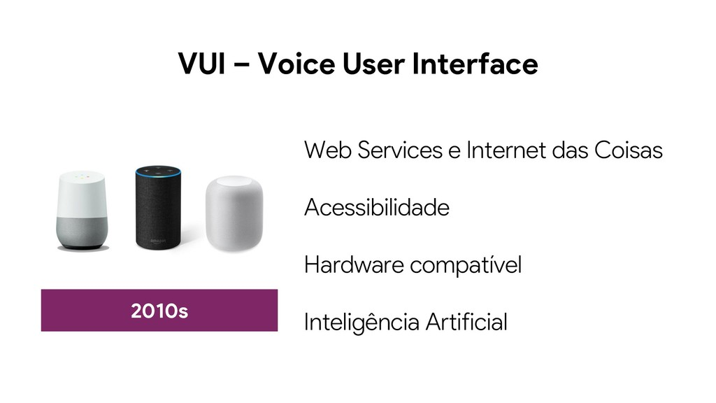 VUI – Voice User Interface 2010s Web Services e...