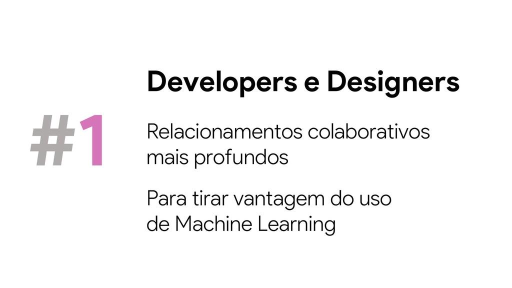 Developers e Designers #1 Relacionamentos colab...