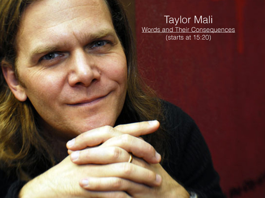Taylor Mali Words and Their Consequences (start...