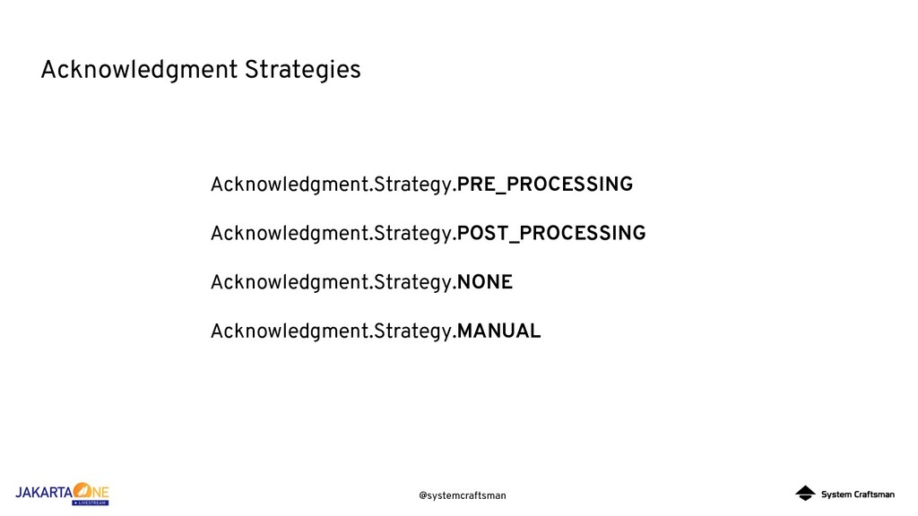 @systemcraftsman Acknowledgment Strategies Ackn...