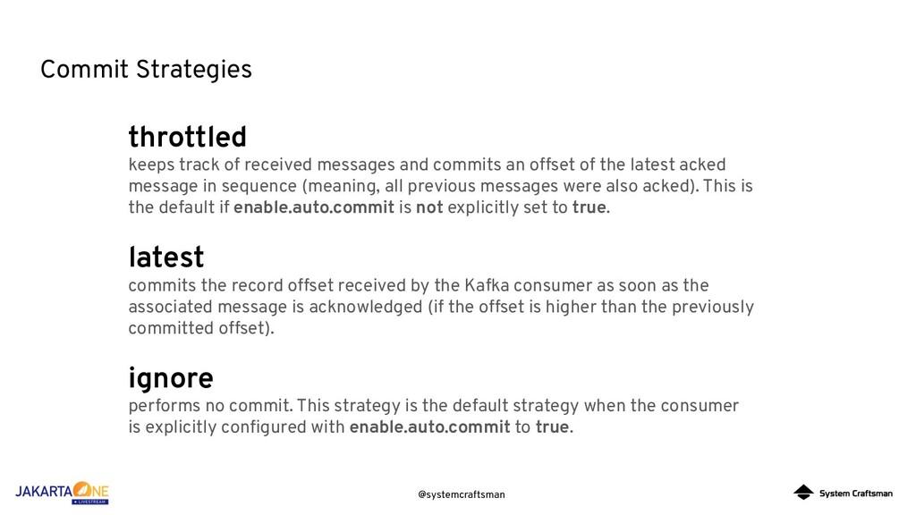 @systemcraftsman Commit Strategies throttled ke...