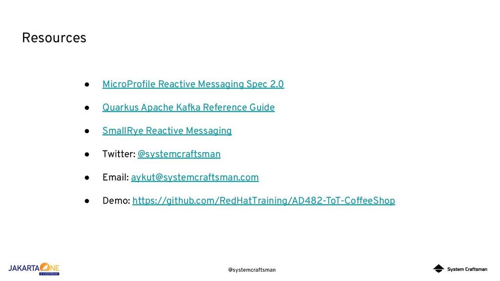 @systemcraftsman Resources ● MicroProfile Reacti...