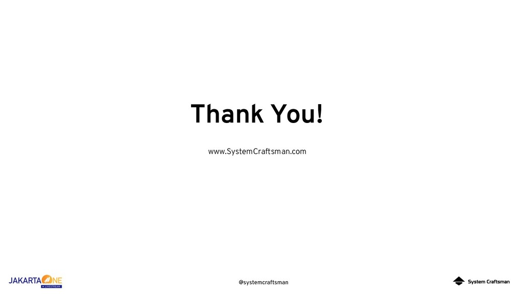 @systemcraftsman Thank You! www.SystemCraftsman...