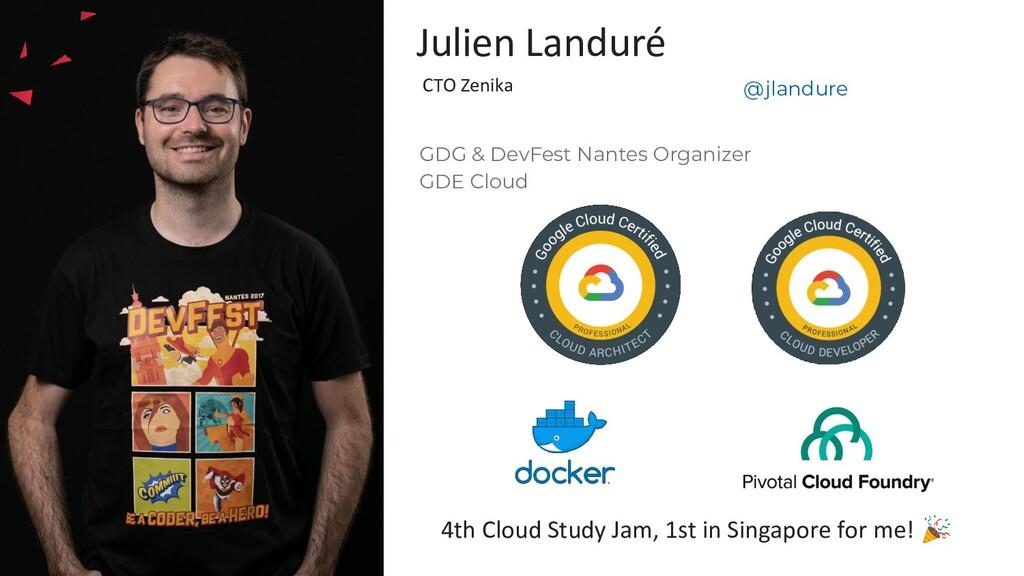 GDG & DevFest Nantes Organizer GDE Cloud Julien...