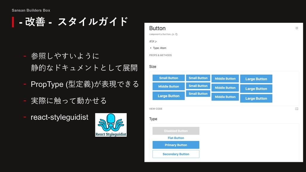 Sansan Builders Box - 参照しやすいように 静的なドキュメントとして展開 ...