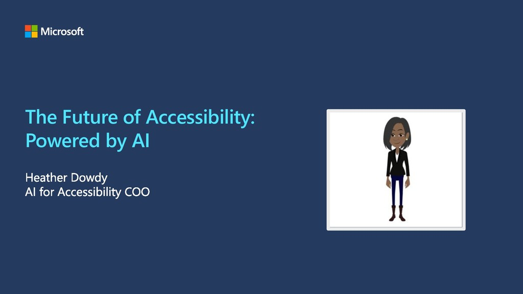 The Future of Accessibility: Powered by AI