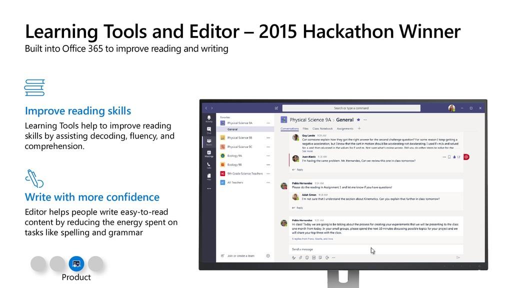 Learning Tools and Editor – 2015 Hackathon Winn...