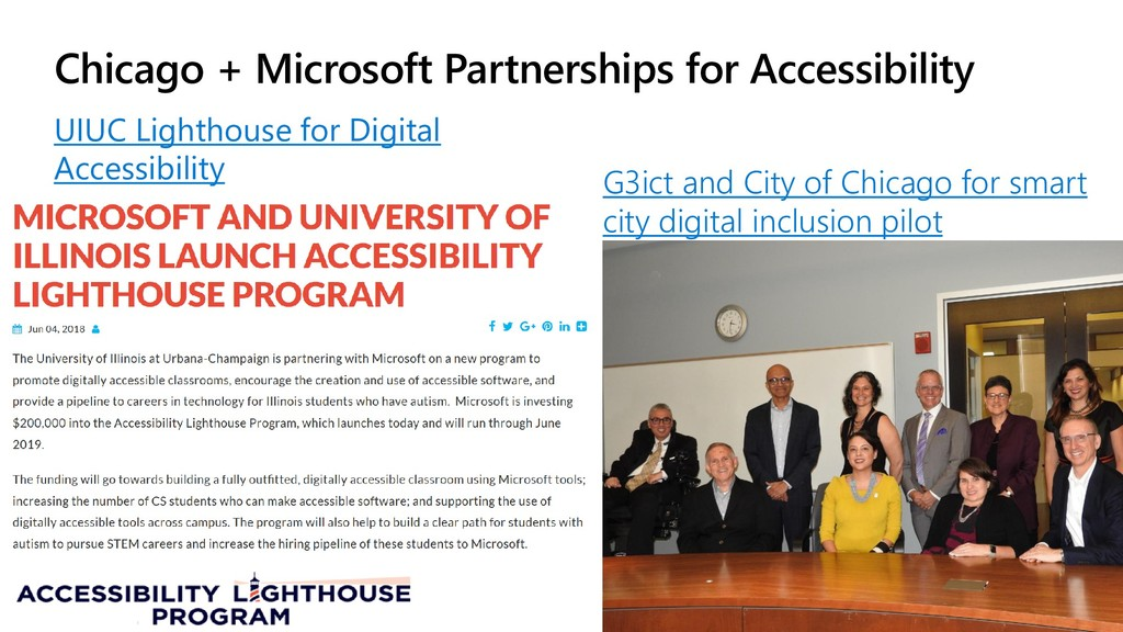 Chicago + Microsoft Partnerships for Accessibil...