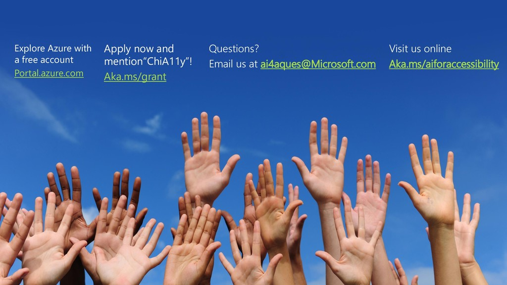 Contact us Apply now! Aka.ms/grant Questions? E...