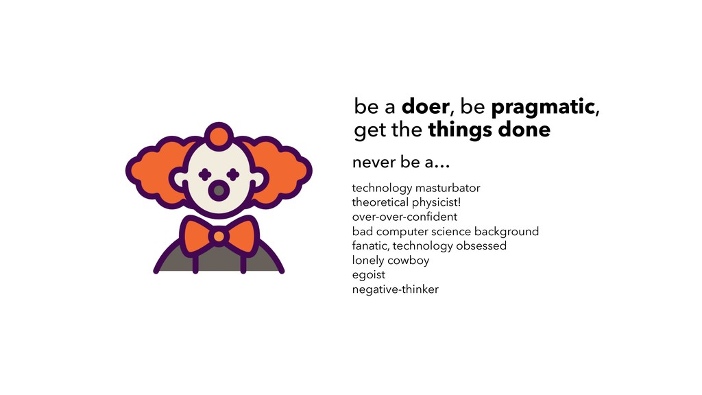 never be a… technology masturbator theoretical ...