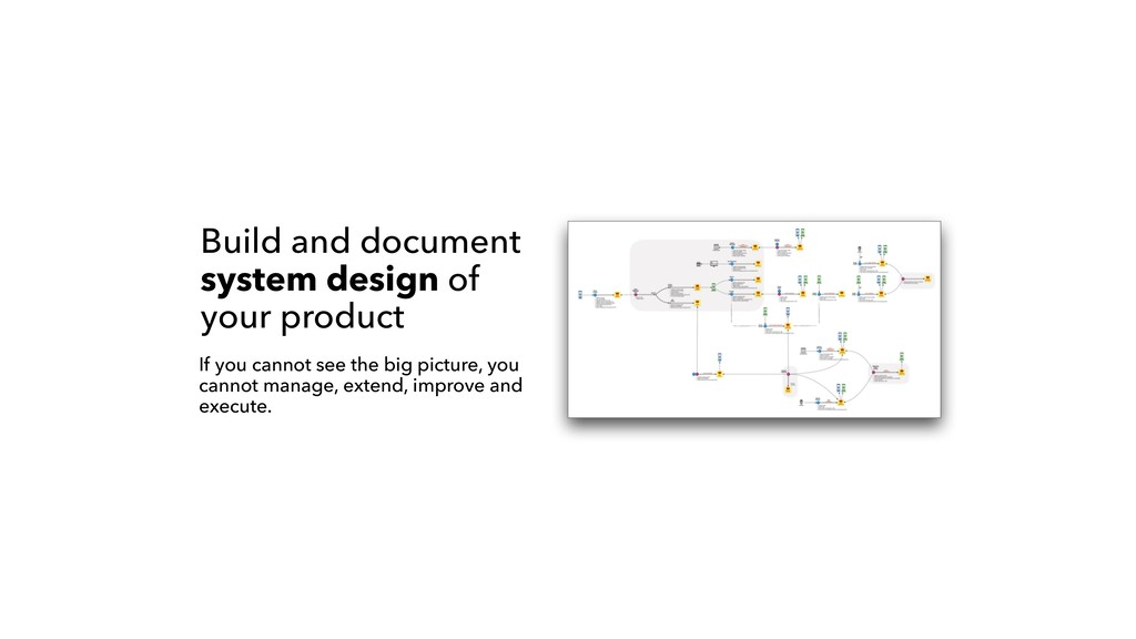 Build and document system design of your produc...