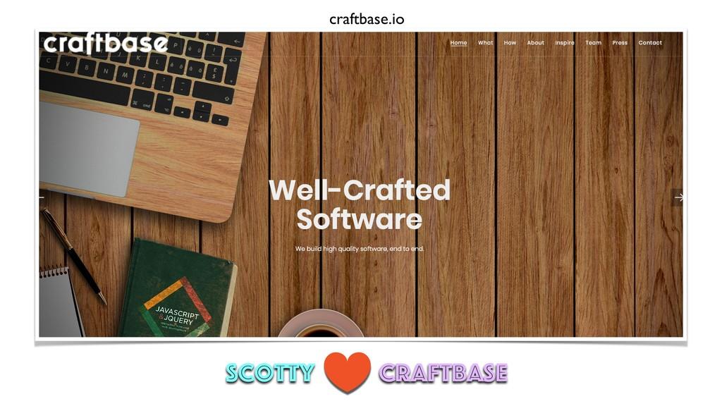 craftbase.io scotty Craftbase