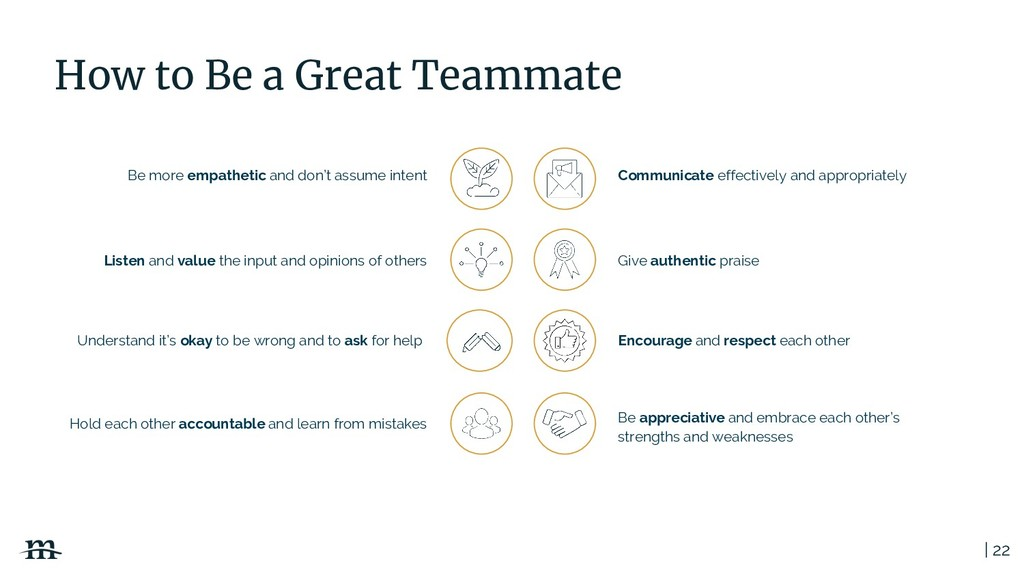 | 22 How to Be a Great Teammate Listen and valu...