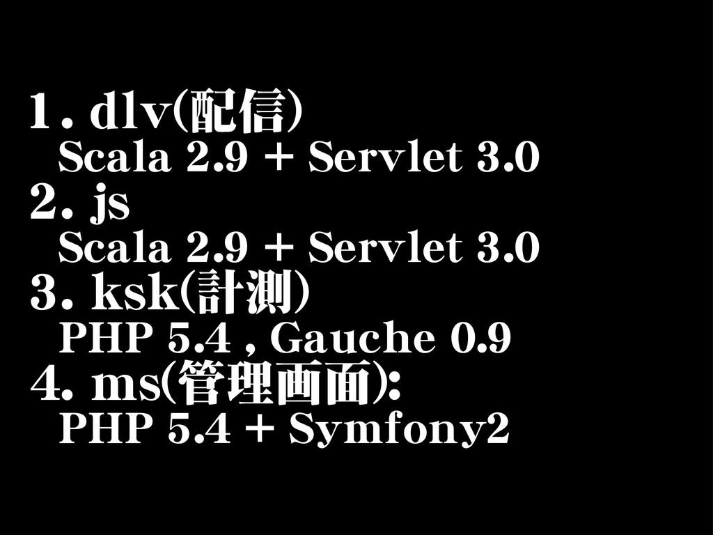 11..  ddllvv((配信))     SSccaallaa  22..99  ++  ...