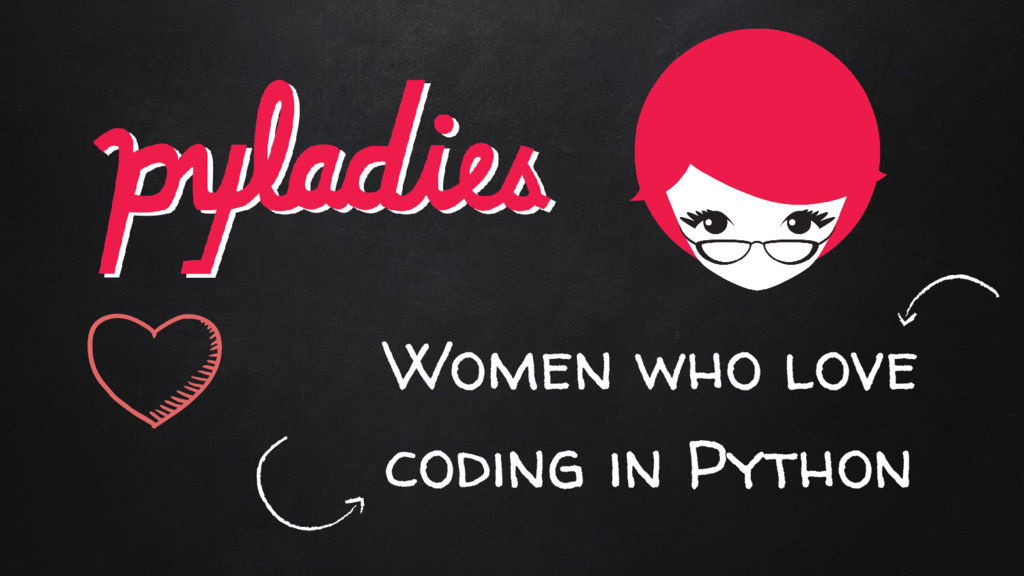 Women who love coding in Python