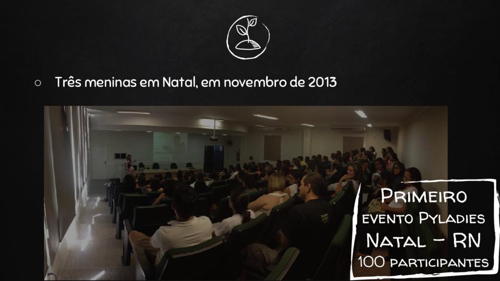 Primeiro evento Pyladies Natal - RN 100 partici...