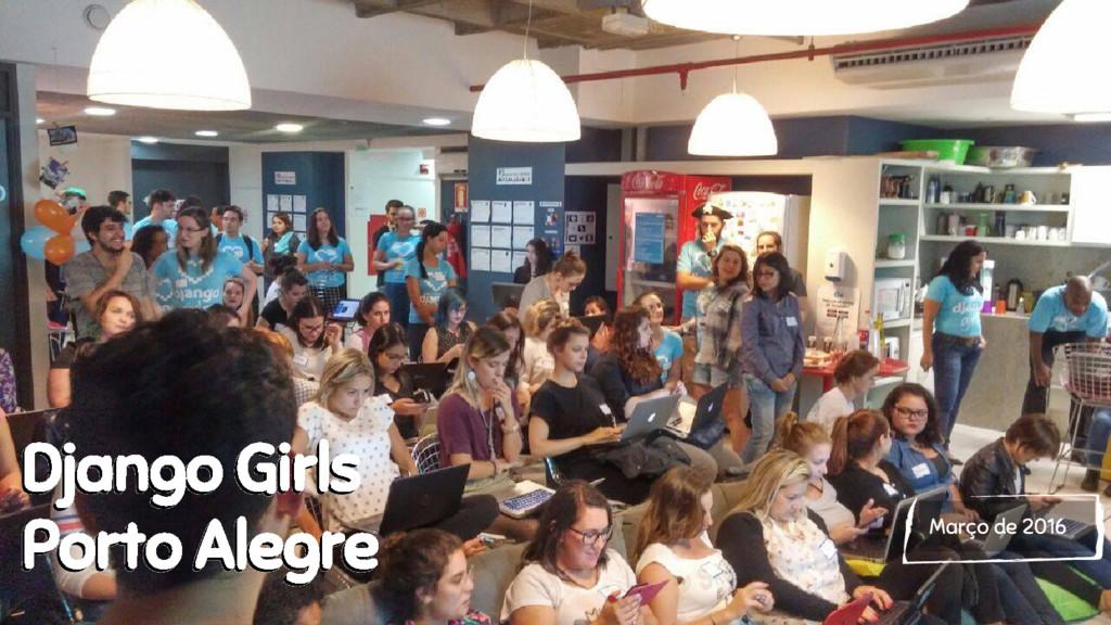 Março de 2016 Django Girls Porto Alegre Django ...
