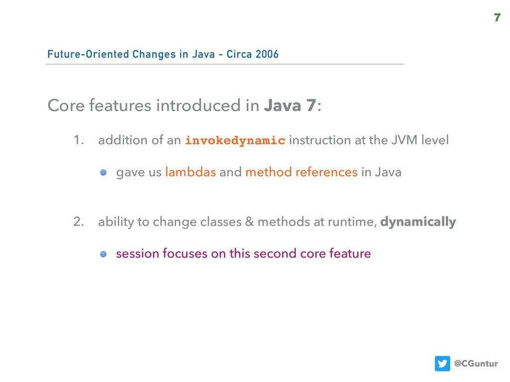 @CGuntur Future-Oriented Changes in Java - Circ...