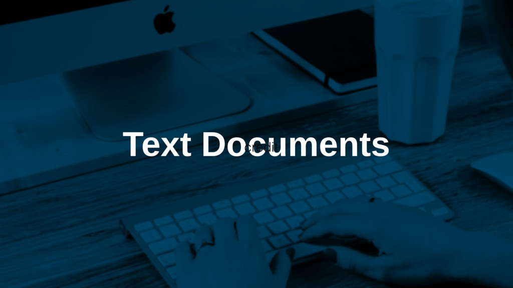 Text Documents credit