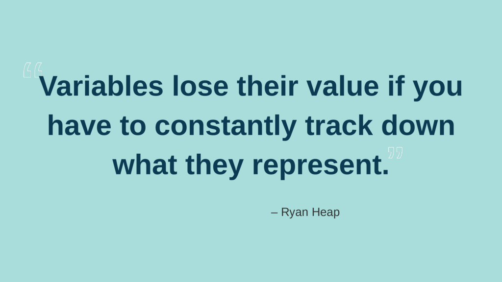 Variables lose their value if you have to const...