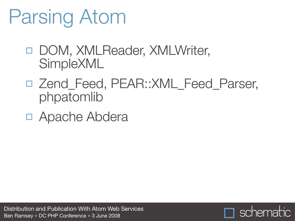 Distribution and Publication With Atom Web Serv...