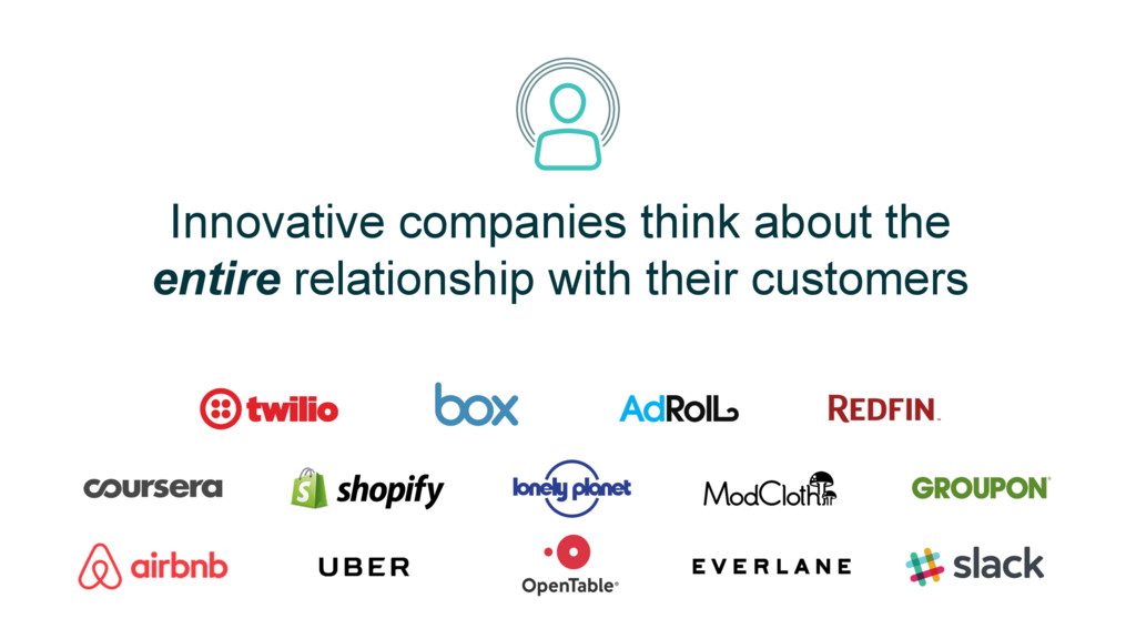 Innovative companies think about the entire rel...