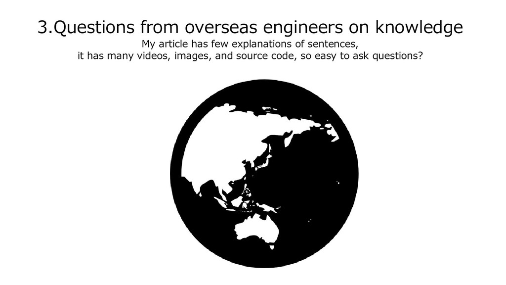 3.Questions from overseas engineers on knowledg...