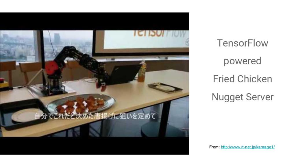 TensorFlow powered Fried Chicken Nugget Server ...