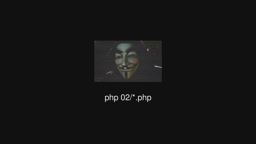 php 02/*.php