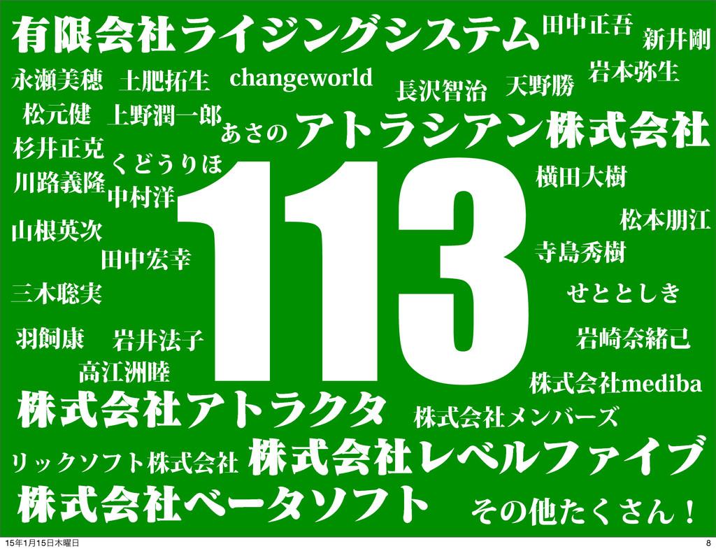 113 ༗ݶձࣾϥΠδϯάγεςϜ ΞτϥγΞϯגࣜձࣾ גࣜձࣾΞτϥΫλ גࣜձࣾϨϕϧϑ...